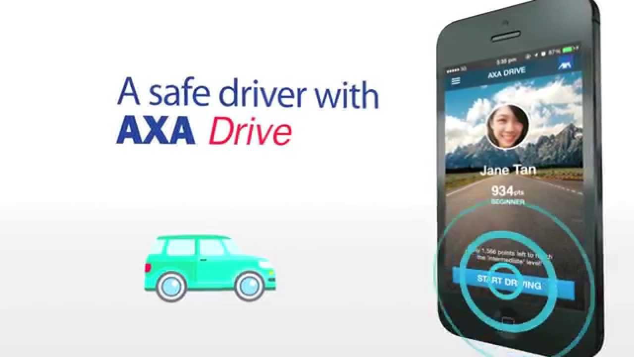 ข่าวประชาสัมพันธ์ : แอพพลิเคชั่น AXA Driveประสบการณ์ใหม่ของการขับขี่