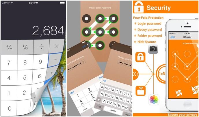 3 แอพฯ เริ่ดๆ สำหรับซ่อนรูปใน  iphone