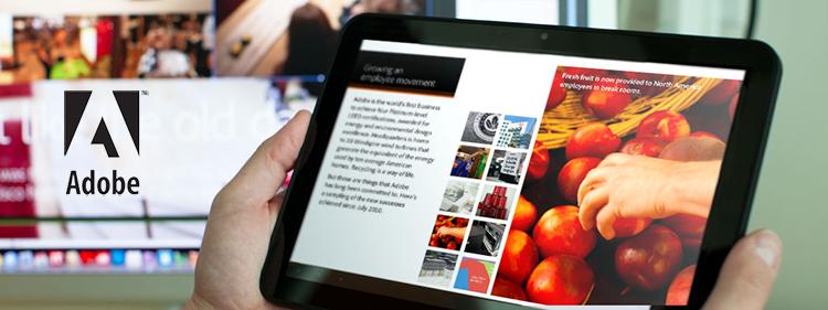 อะโดบีผลักดันการสร้างสรรค์เนื้อหาผ่าน Rich-Content Mobile Apps และเว็บไซต์