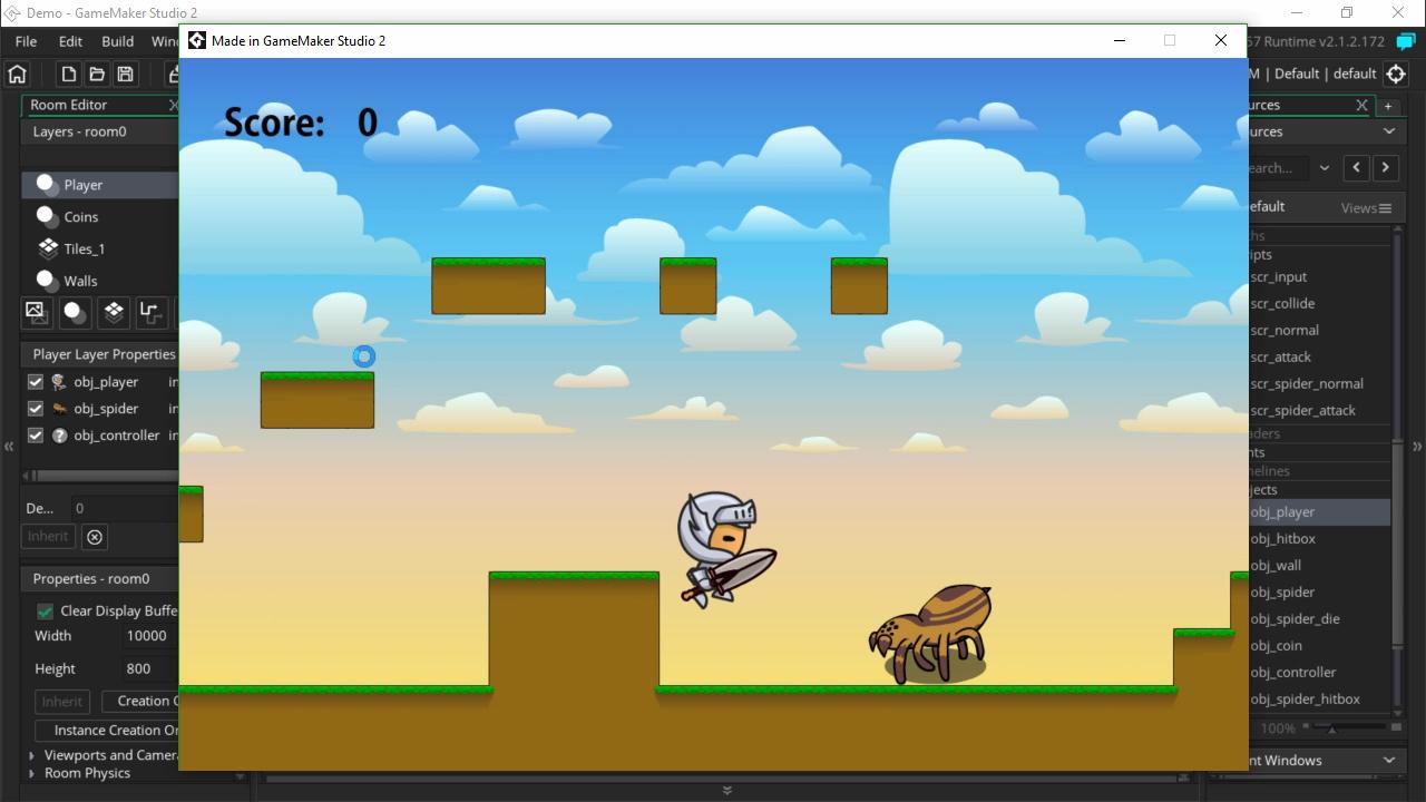 มาสร้างเกมกันกับ Game Maker Studio